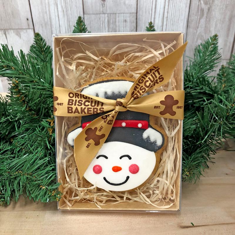 Snowman Biscuit Gift Box
